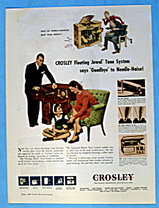 Vintage Ad: 1946 Crosley Floating Jewel Tone System (Image1)