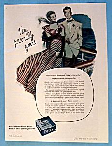 Vintage Ad: 1946 Kotex Sanitary Napkins (Image1)