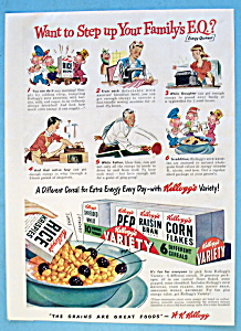 Vintage Ad: 1946 Kellogg's Variety (Image1)