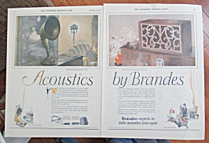 1925 Acoustics With The Brandes Speakers