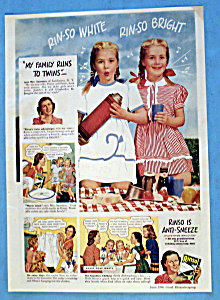 Vintage Ad: 1946 Rinso (Image1)