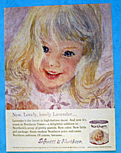 1963 Northern Tissue with Lovely Little Girl's Face  (Image1)