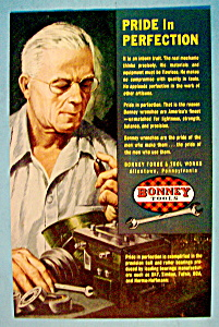 Vintage Ad: 1952 Bonney Tools (Image1)