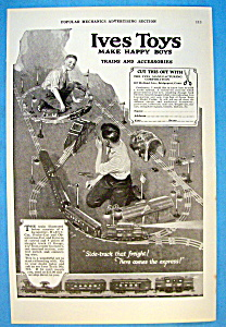 Vintage Ad: 1923 Ives Toys