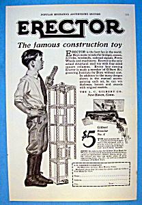 Vintage Ad: 1923 Erector (Image1)