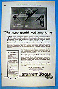 Vintage Ad: 1923 Starrett Combination Set (Image1)