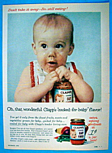 Vintage Ad: 1959 Clapp's Baby Foods