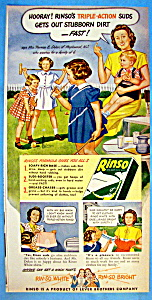 Vintage Ad: 1947 Rinso (Image1)