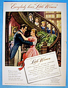 Vintage Ad: 1949 Little Women