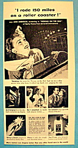 Vintage Ad: 1951 Jergens Lotion With Ann Sheridan