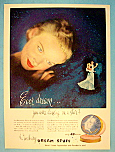 Vintage Ad: 1950 Woodbury Dream Stuff (Image1)