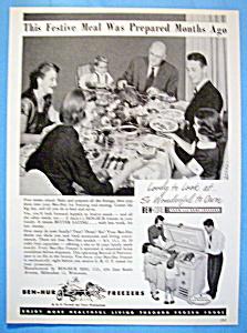 Vintage Ad: 1951 Ben-Hur Freezers (Image1)