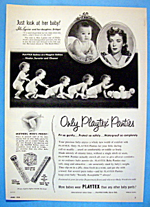 Vintage Ad: 1953 Playtex Panties With Ida Lupino