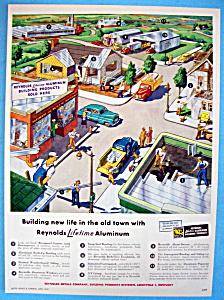 Vintage Ad: 1949 Reynolds Lifetime Aluminum (Image1)