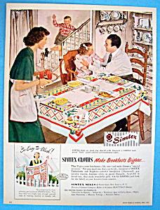 Vintage Ad: 1949 Simtex Cloths (Image1)