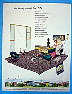 Vintage Ad: 1952 Lees Carpets (Image1)