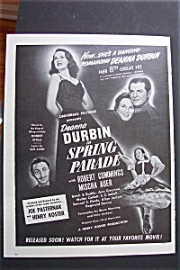 1940 Spring Parade With Deanna Durbin