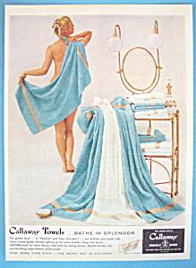 Vintage Ad: 1955 Callaway Towels (Image1)