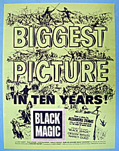 Vintage Ad: 1949 Black Magic