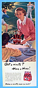 1949 Hires Root Beer w/Woman Carrying Tray of Root Beer (Image1)