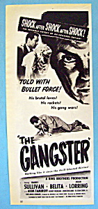 Vintage Ad: 1947 The Gangster