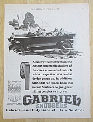 1926 Gabriel Snubbers with Car Driving  (Image1)