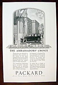 1926 Packard Automobile With A Picture Of A Packard