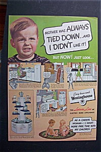 1940 Westinghouse Electric Appliances with Little Boy (Image1)