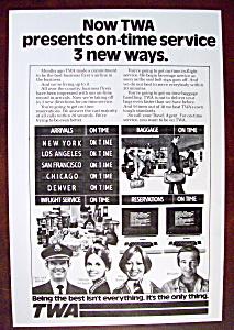 Vintage Ad: 1977 TWA Airlines (Image1)