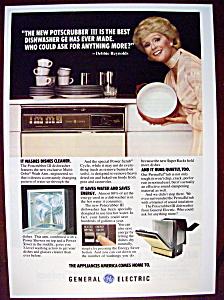 Vintage Ad: 1978 G. E. Dishwasher w/Debbie Reynolds (Image1)