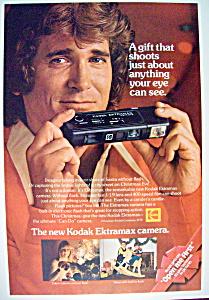 1978 Kodak Ektramax Camera w/ Michael Landon (Image1)