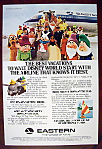 1978 Eastern Airline w/Walt Disney World's Mickey Mouse (Image1)