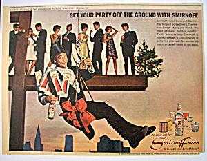 1966 Smirnoff Vodka with Paramount Picture's Sid Caesar (Image1)