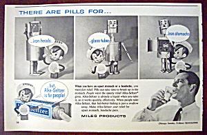 Vintage Ad: 1962 Alka Seltzer with Speedy (Image1)