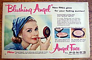 Vintage Ad: 1957 Pond's Angel Face (Image1)