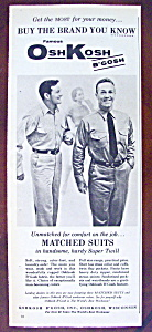 Vintage Ad: 1958 Osh Kosh Matched Suits (Image1)
