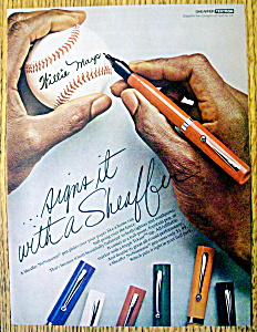 Vintage Ad: 1976 Sheaffer Pens with Willie Mays (Image1)