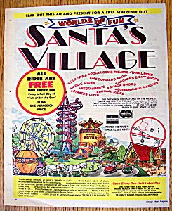 Vintage Ad: 1976 Santa's Village Amusement Park (Image1)