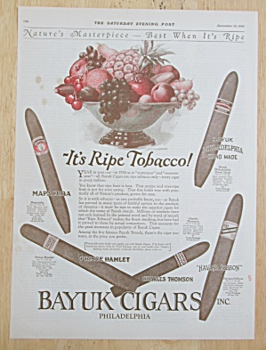 1925 Bayuk Cigars with Variety Of Different Cigars (Image1)