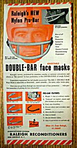 Vintage Ad: 1958 Raleigh Nylon Pro Bar (Image1)