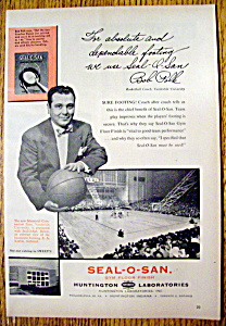 Vintage Ad: 1955 Seal-o-san With Bob Polk