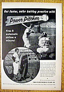 Vintage Ad: 1955 Power Pitcher (Image1)
