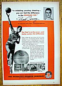 1955 Seamless 580 Basketball with Bob Cousy (Image1)