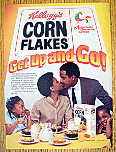 Vintage Ad: 1983 Kellogg's Corn Flakes Cereal