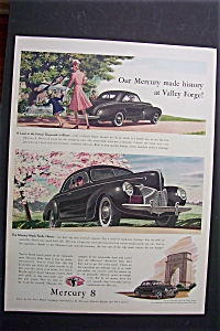 1940 Mercury 8 Cars with Black Mercury 8 (Image1)