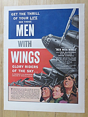 Vintage Ad: 1938 Men With Wings