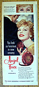 Vintage Ad: 1958 Angel Face Compact Make Up (Image1)