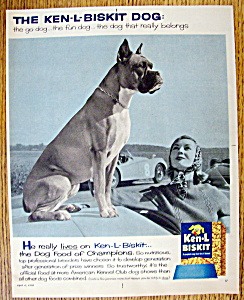 Vintage Ad: 1958 Ken-L Biskit (Image1)