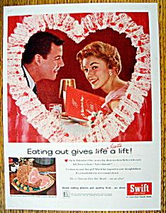 Vintage Ad: 1959 Swift Premium Ham (Image1)