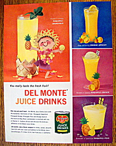 Vintage Ad: 1959 Del Monte Juice Drinks